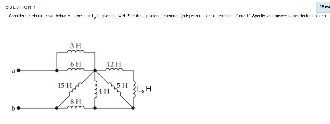 Solved: Consider The Circuit Shown Below. Assume That Lo I