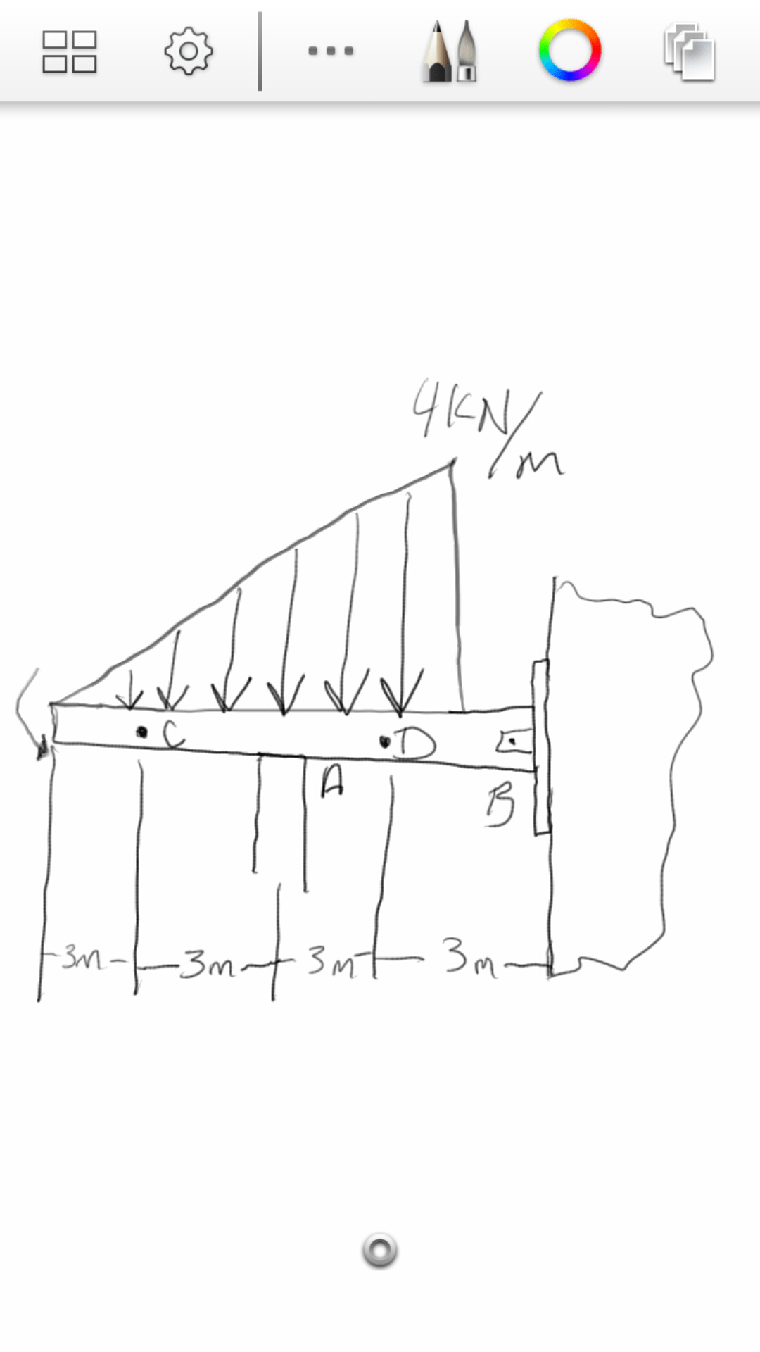 Solved: Determine The Internal Shear, Axial Force, And Ben