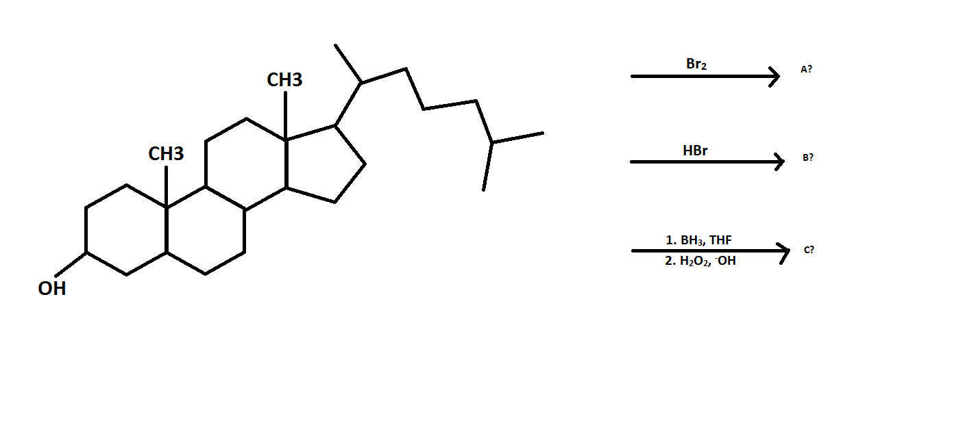 Solved: Predict The Products Of The Following Reactions. D