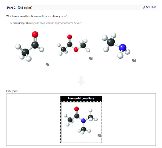 Solved: Which Compound Functions As A Brønsted-Lowry Base