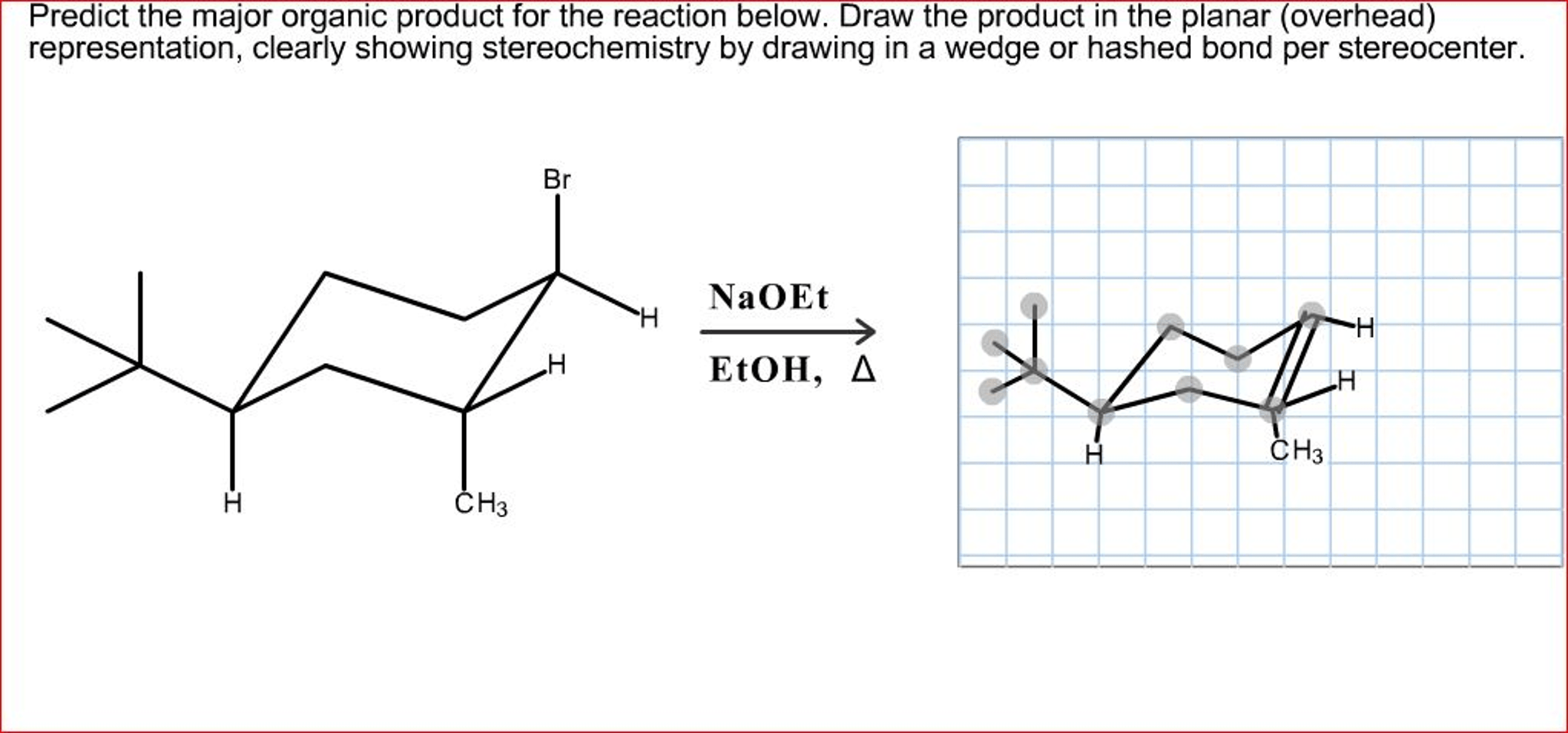 Solved: Predict The Major Organic Product For The Reaction