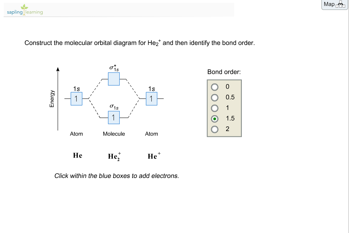molecular orbital diagram for he2 three prong massager solved sapling learning construct the d