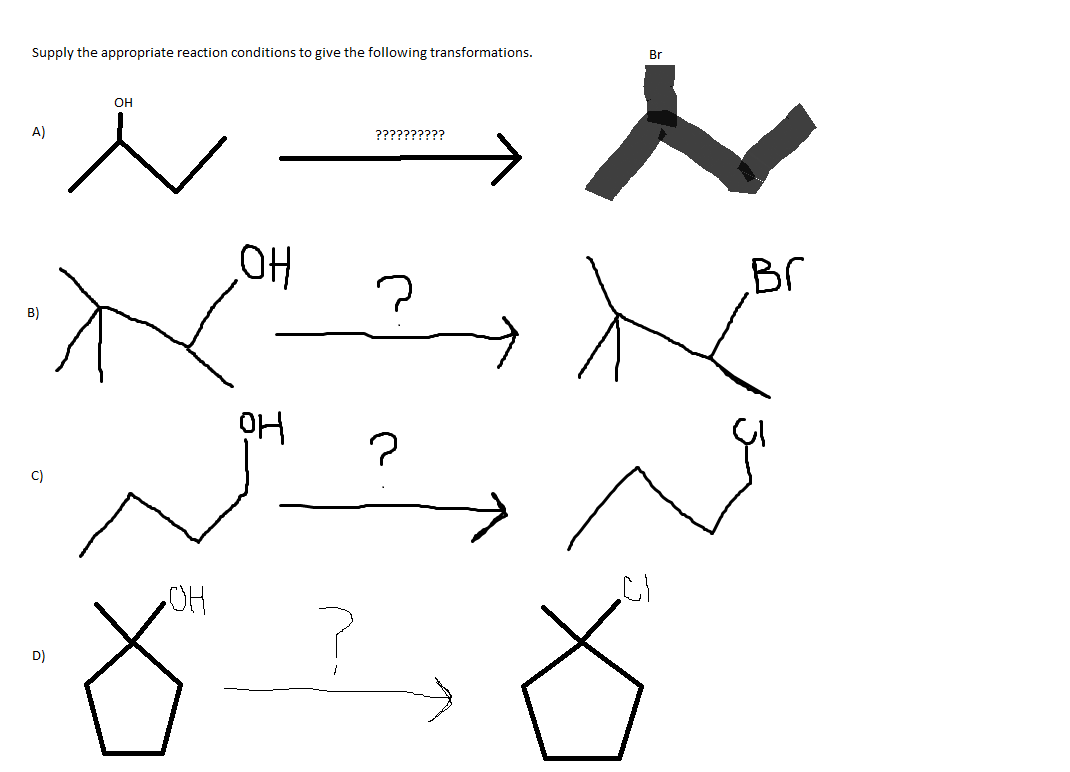 Solved: Supply The Appropriate Reaction Conditions To Give