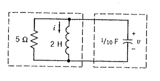 Solved: For The Circuit Shown, The Initial Conditions Are