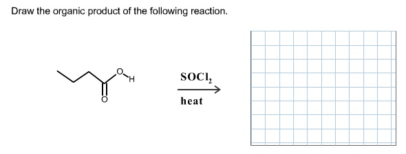 Solved: Draw The Product(s) Of The Following Reaction. Dra