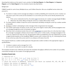 Sequence Diagram Questions And Answers Elements Of Plot Worksheet Solved Assuming That Stations Are The System 39s Users Pro
