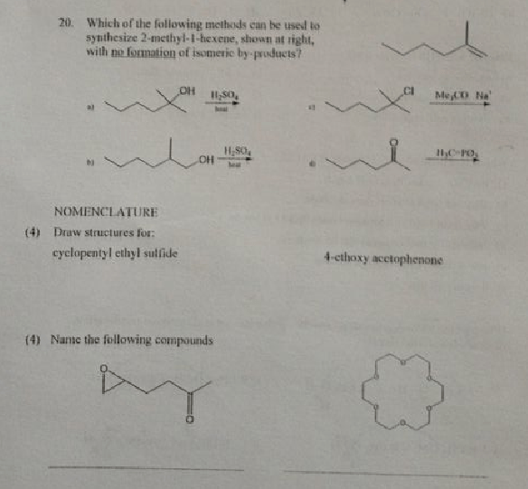 Solved: 20. Which Ofthe Following Methods Ean Be Used To S