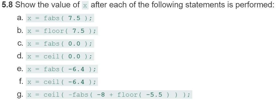 Solved: C Programming Chapter 6: Page 266, 268, Exercise 6