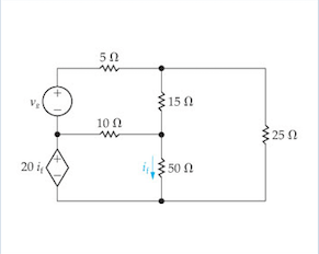 Solved: Use The Mesh-current Method To Find The Power Deli