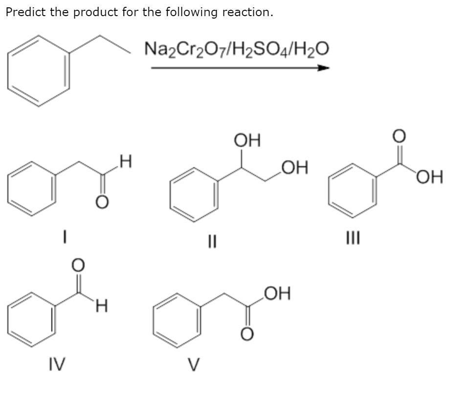 Solved: Predict The Product For The Following Reaction. Na