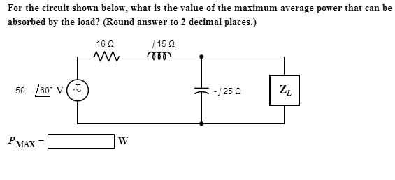 Solved: For The Circuit Shown Below, What Is The Value Of