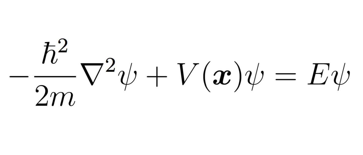 Solved: The Time-independent Schrodinger Equation Is Given