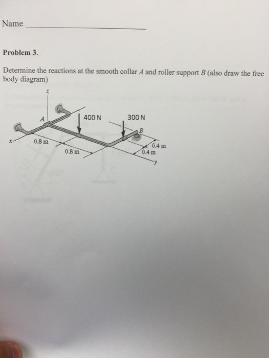 Question A Student Draws The Flawed Freebody Diagram Shown