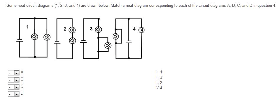 Solved: Some Neat Circuit Diagrams (1,2,3, And 4) Are Draw