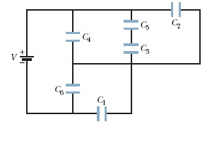 Solved: In The Figure A 19 V Battery Is Connected Across C