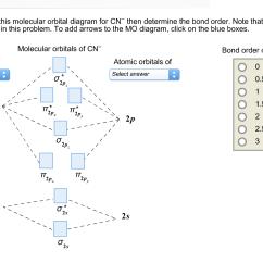 Cn Molecular Orbital Diagram Short Story Plot Terms Solved Hi Can Someplease Help Me Fill The Orbit