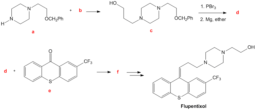 Solved: The Antipsychotic Drug Flupentixol Is Prepared By