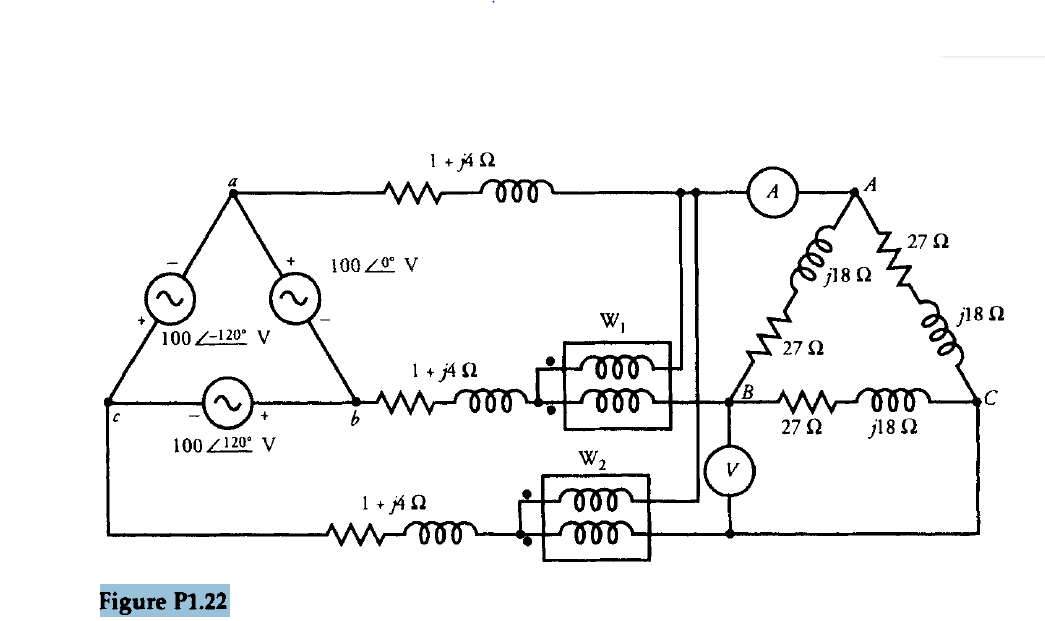 A Balanced Three-phase Load Is Connected To A Bala