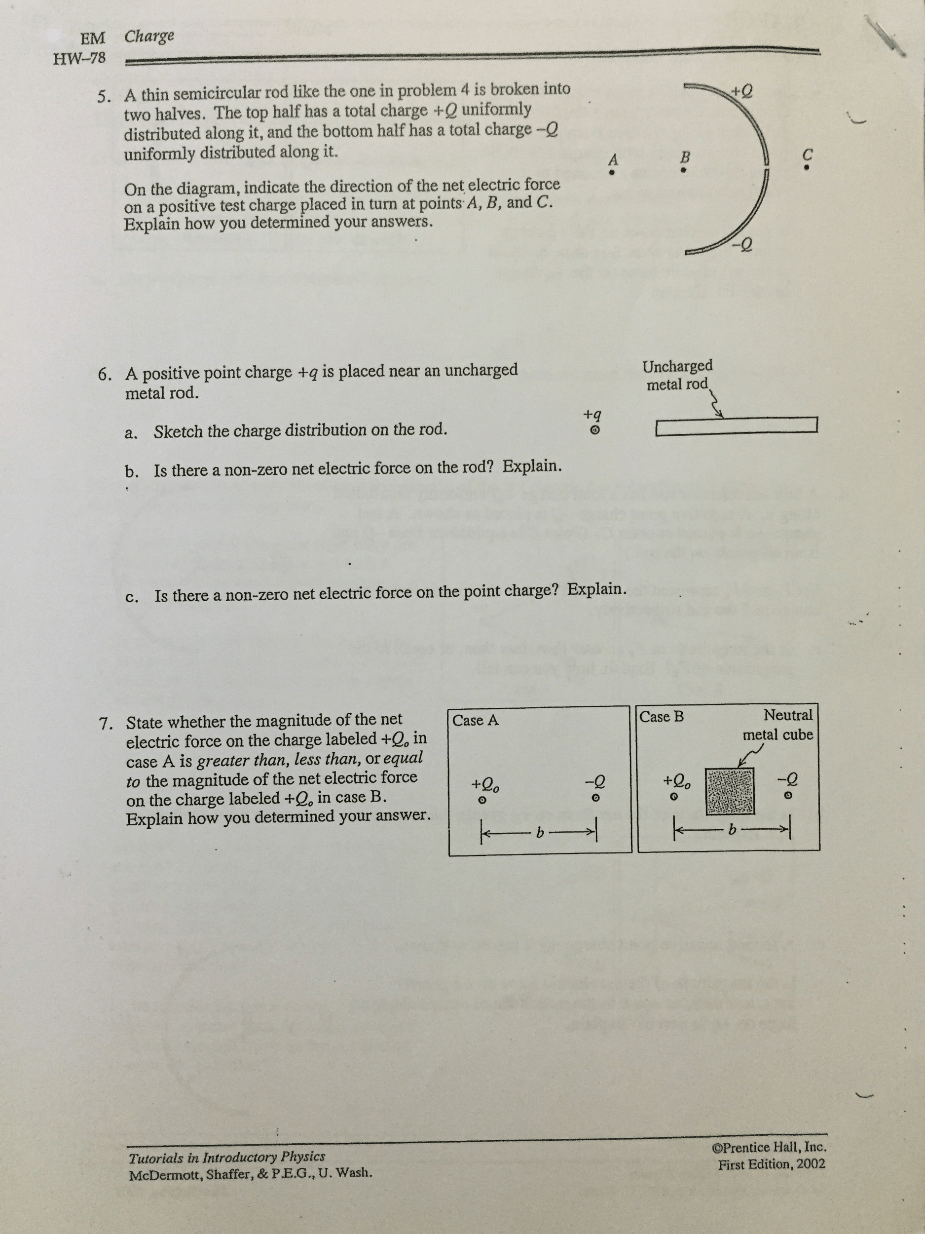Tutorials In Introductory Physics Homework Solutions