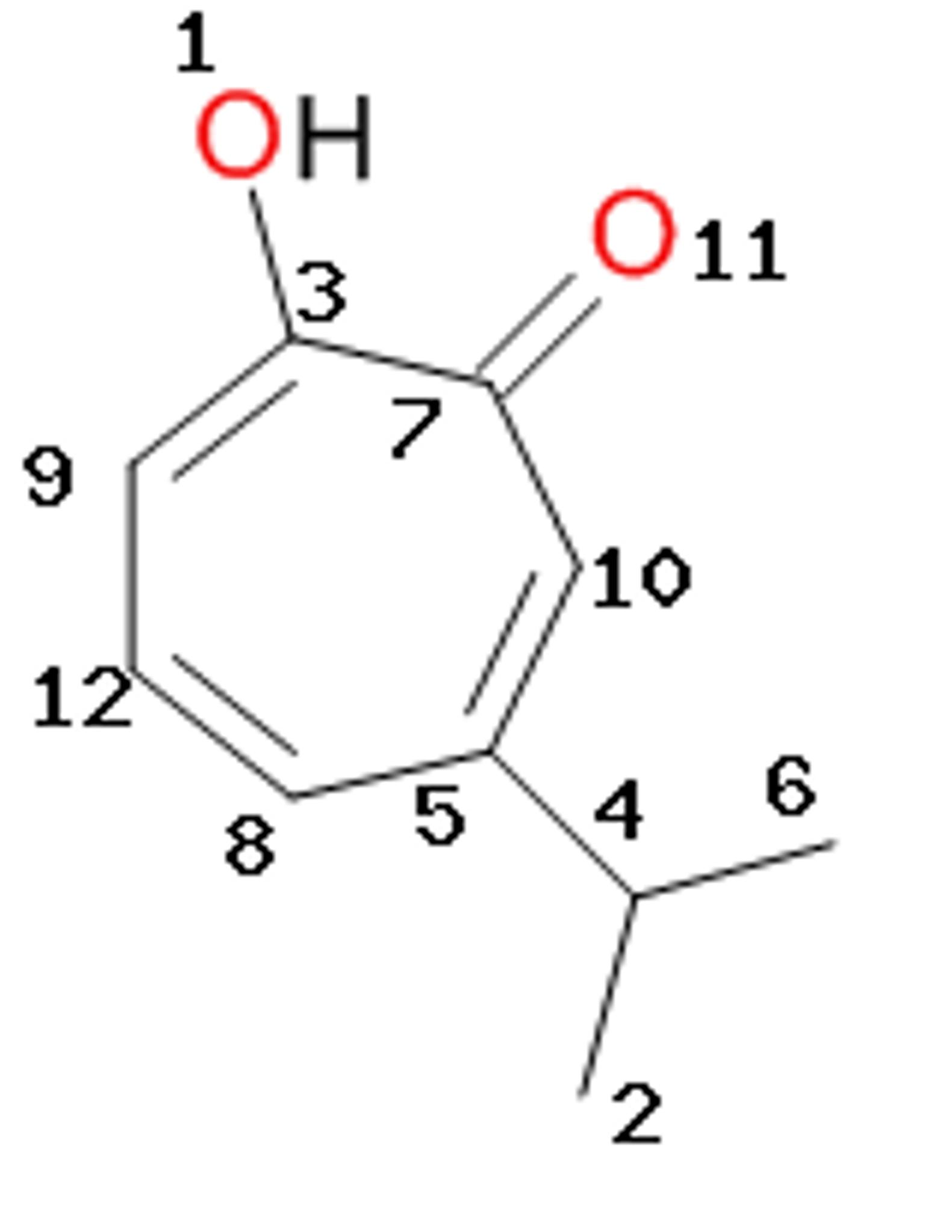molecular orbital diagram of oh glock 21 solved the structure hinokitiol is represent