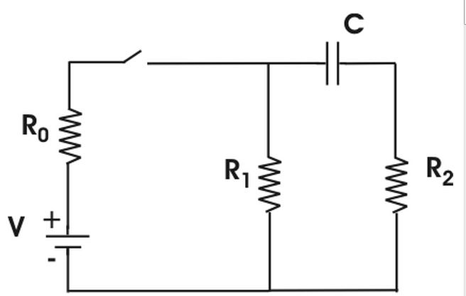 Solved: The Diagram Above Depicts An RC-circuit Where C=5