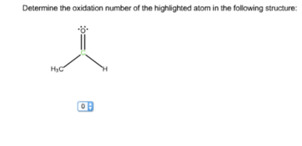 Solved: Determine The Oxidation Number Of The Highlighted