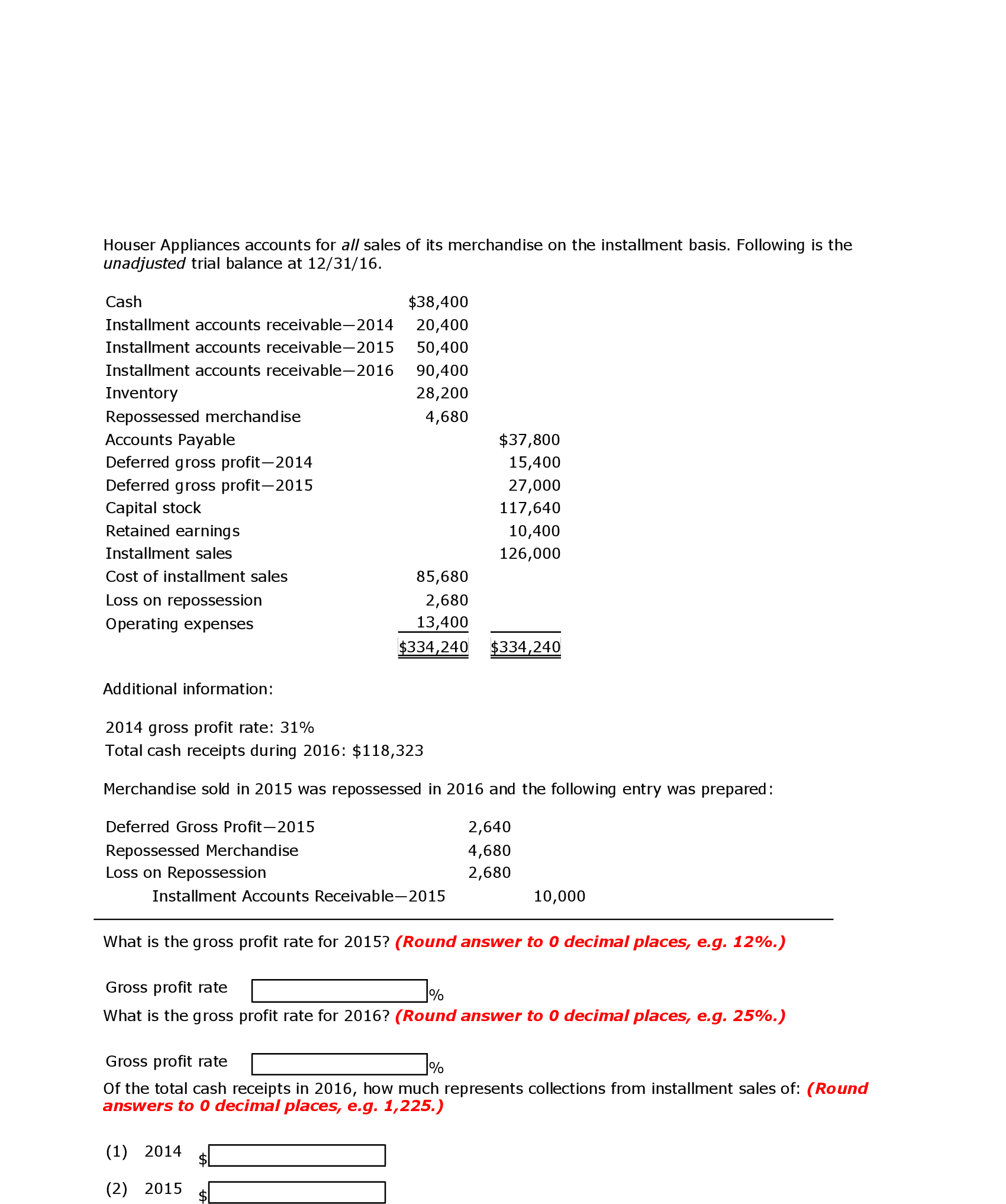 Investment Accounting Entries