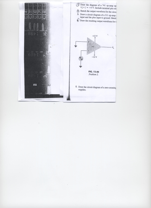 small resolution of draw the diagram of a 741 op amp op vi