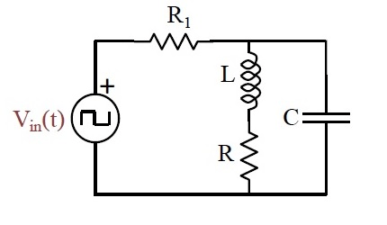 Solved: Consider The RLC Circuit Below With C= 100nF, R1=1
