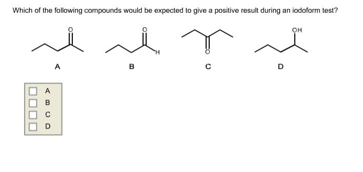 Solved: Which Of The Following Compounds Would Be Expected