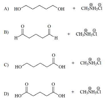 Solved: Identify The Product Obtained In The Hydrolysis Of