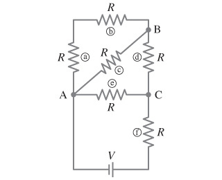Solved: Calculate The Current Through Each Resistor In The