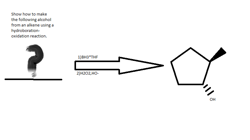 Solved: Show How To Make The Following Alcohol From An Alk