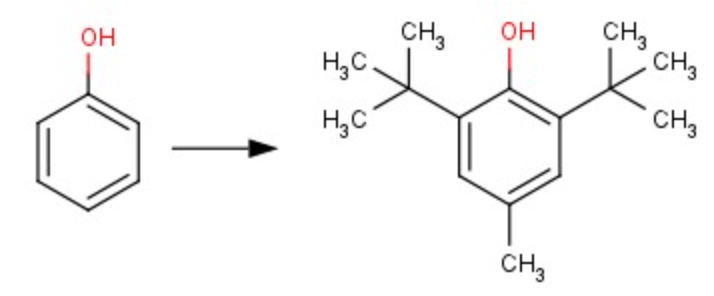 Solved: The Antioxidant BHT (see Picture) Is Commonly Used