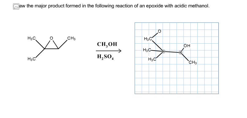 Solved: Draw The Major Product Formed In The Following Rea