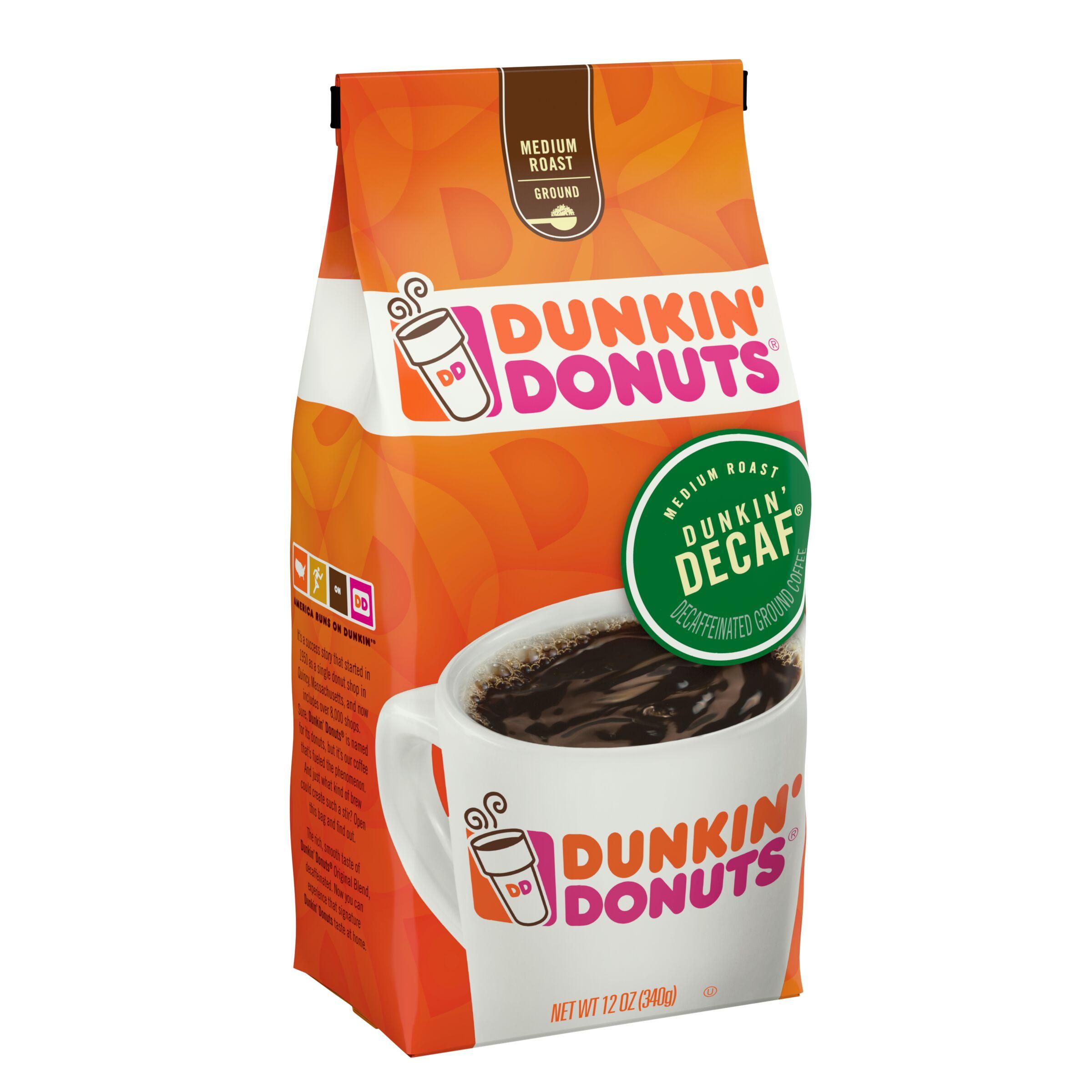 Dunkin' Donuts® Dunkin' Decaf® Coffee - SmartLabel™