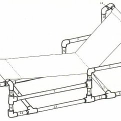 Pvc Lounge Chair Childrens Office Are Na Xfurniture Recycle Pipe Furniture For Chaise Plan Ideas Table F