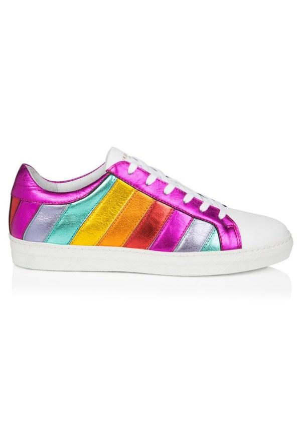 Rainbow Espadrille Look