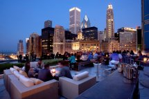 Trump Tower Chicago Rooftop Bar