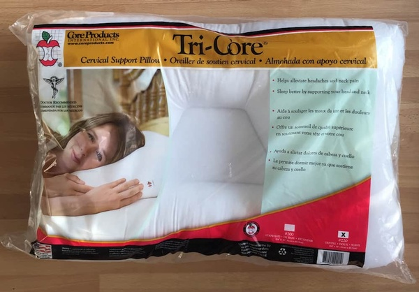 therapy recovery d core cervical pillow