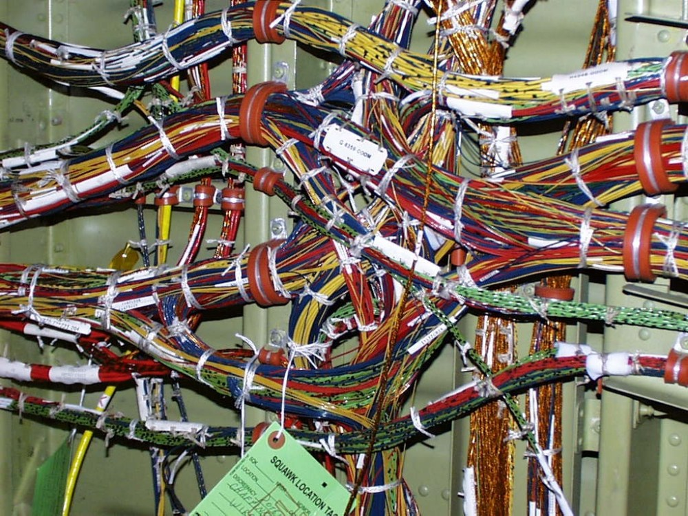 medium resolution of aerospace wire harness ties giving your aircraft ewis a good cleaning lectromecewis