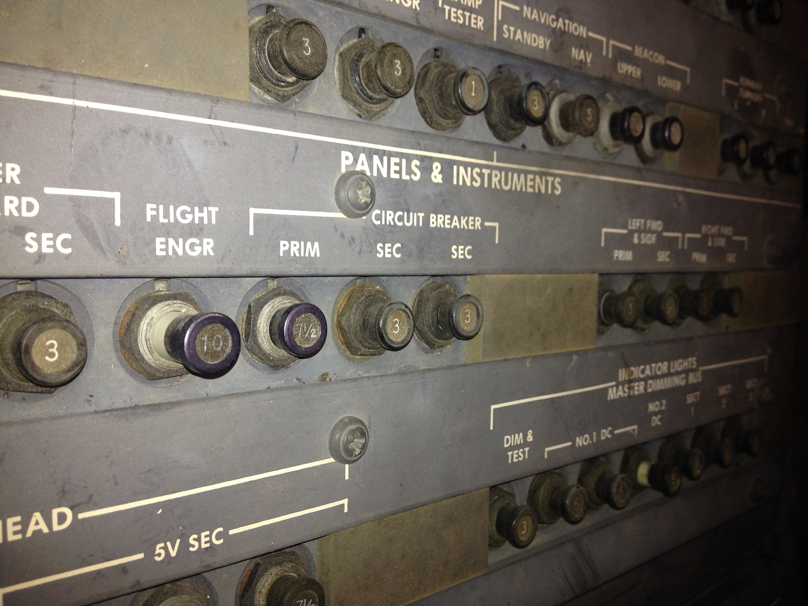 hight resolution of test panel