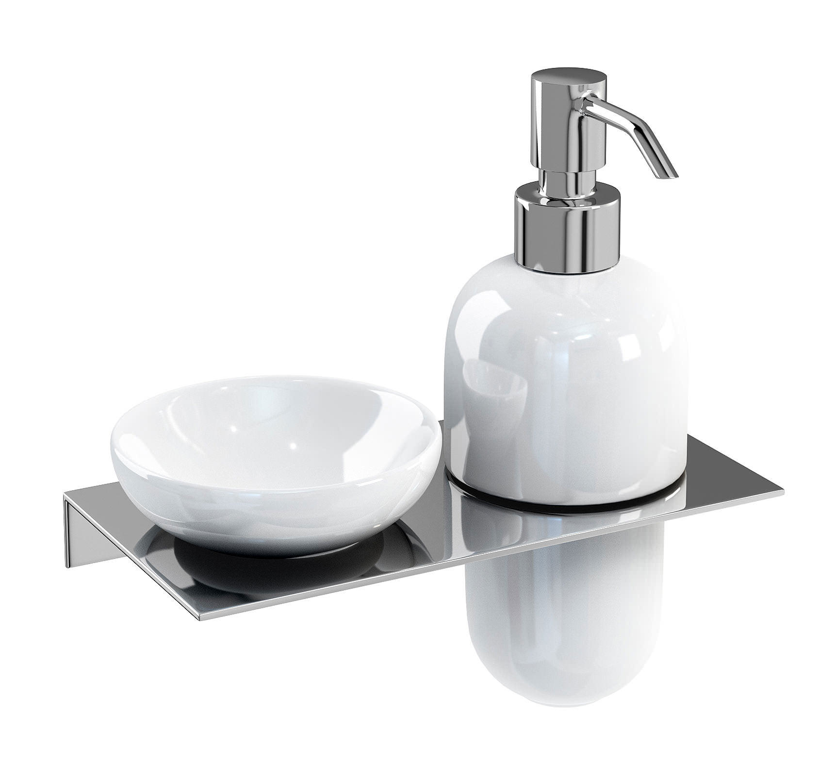 kitchen dish soap dispenser caddy britton stainless steel shelf with and