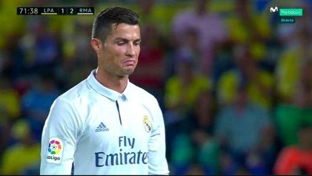 Ronaldo Curses Zidane- As Details of Their Dressing Room Row is Revealed