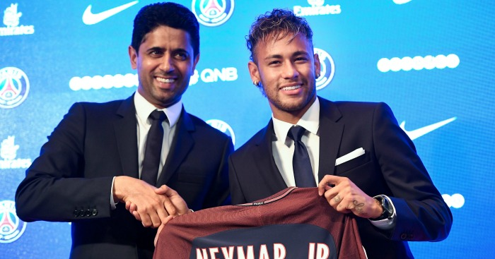 Neymar 'never motivated by money'; PSG talk 'two-brand project ...