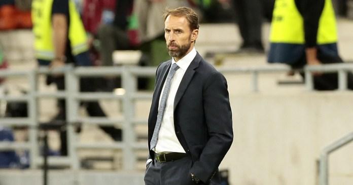 gareth southgate watches on as england play hungary away asiafirstnews