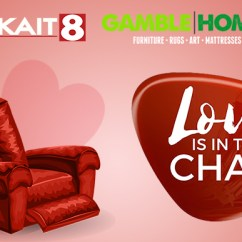 The Chair Stool Sofa Love Is In