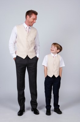 Matchimony also design groomsmen and pageboy outfits in a mix of colour - ahh
