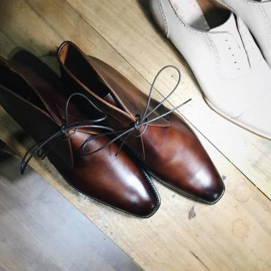 Expect superior fit and quality material with Ed Et Al's shoes