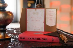 Use the covers of the books as the front of your guestbook. Photo: David Lilly